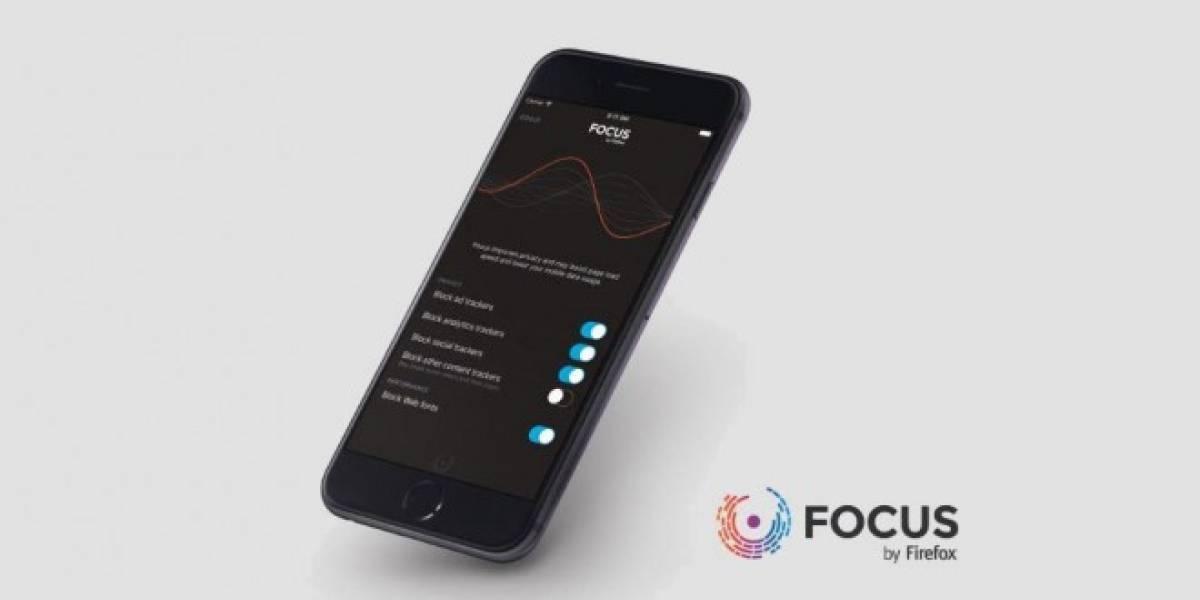Mozilla anuncia Focus, un bloqueador de contenido para iOS