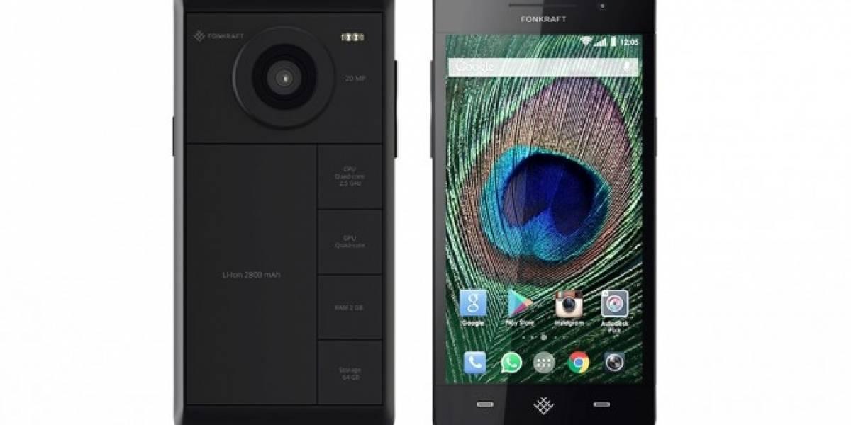Fonkraft quiere ser el primer smartphone modular
