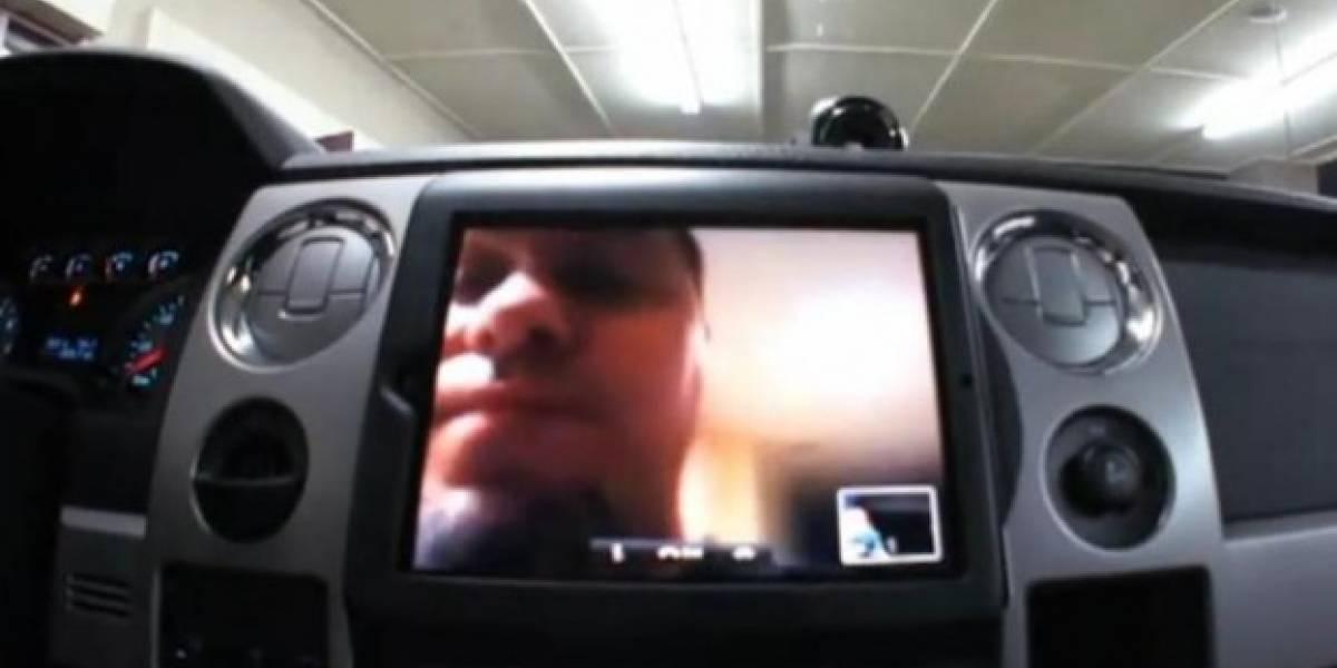El iPad 2 sirve hasta para tunear un auto