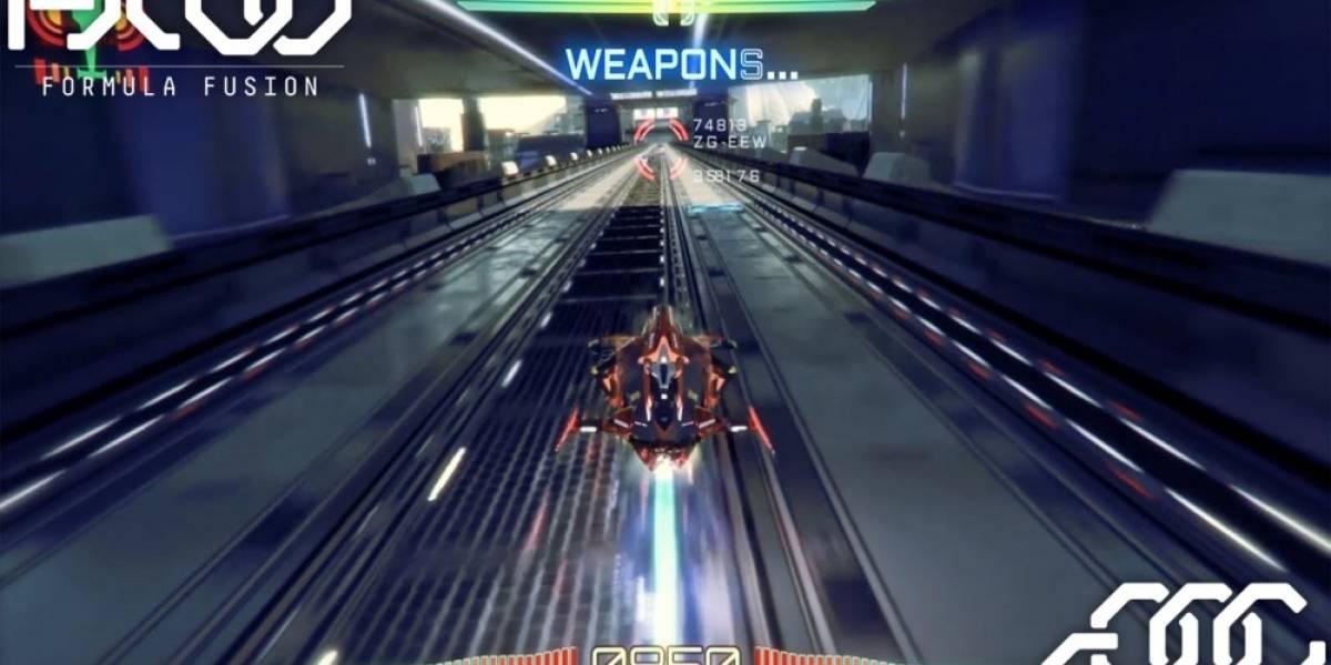 Formula Fusion, el sucesor espiritual de WipeOut que llega a Steam Greenlight