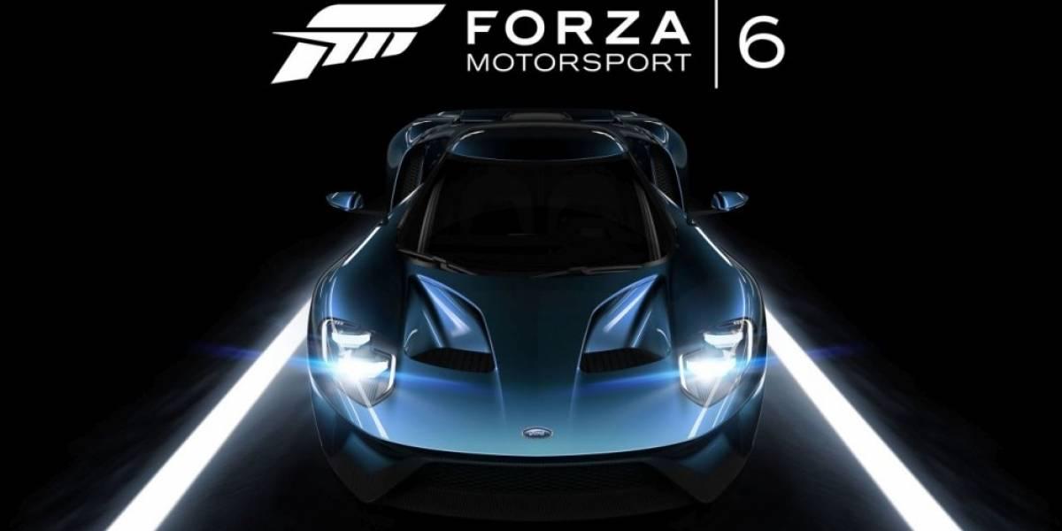 Forza Mortorsport 6 tendrá más de 450 autos, carreras nocturnas y clima dinámico