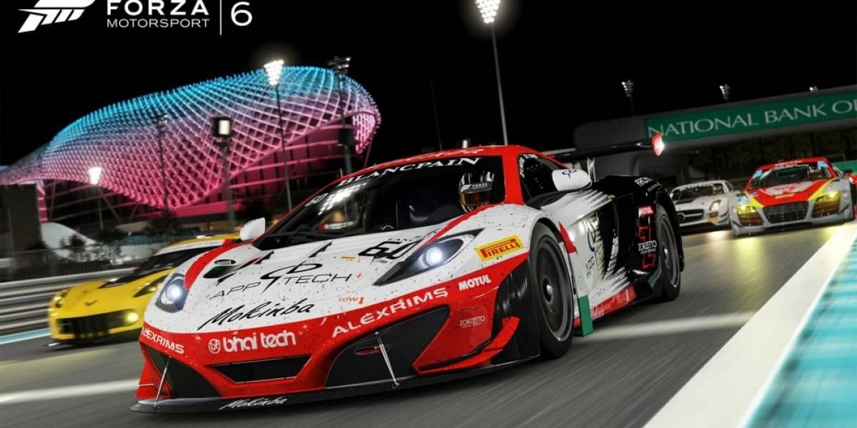 Forza Motorsport 6 ya tiene tráiler de lanzamiento