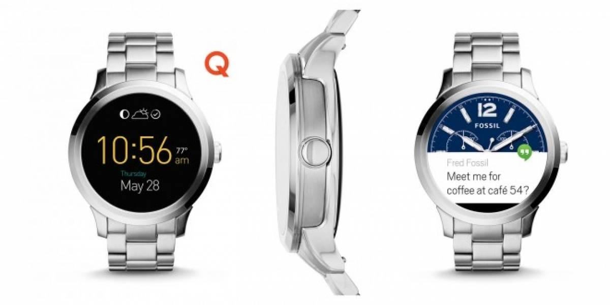 Fossil Q Founder es un smartwatch que parece reloj