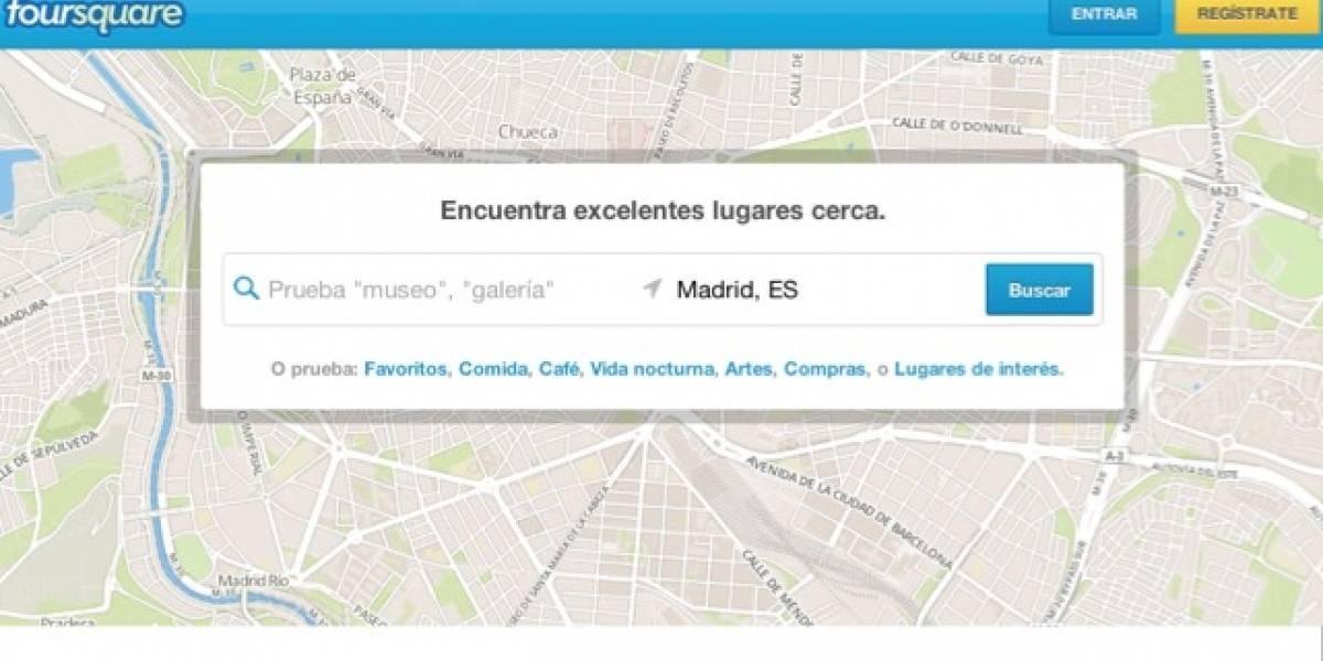 Foursquare cambia sus políticas de privacidad