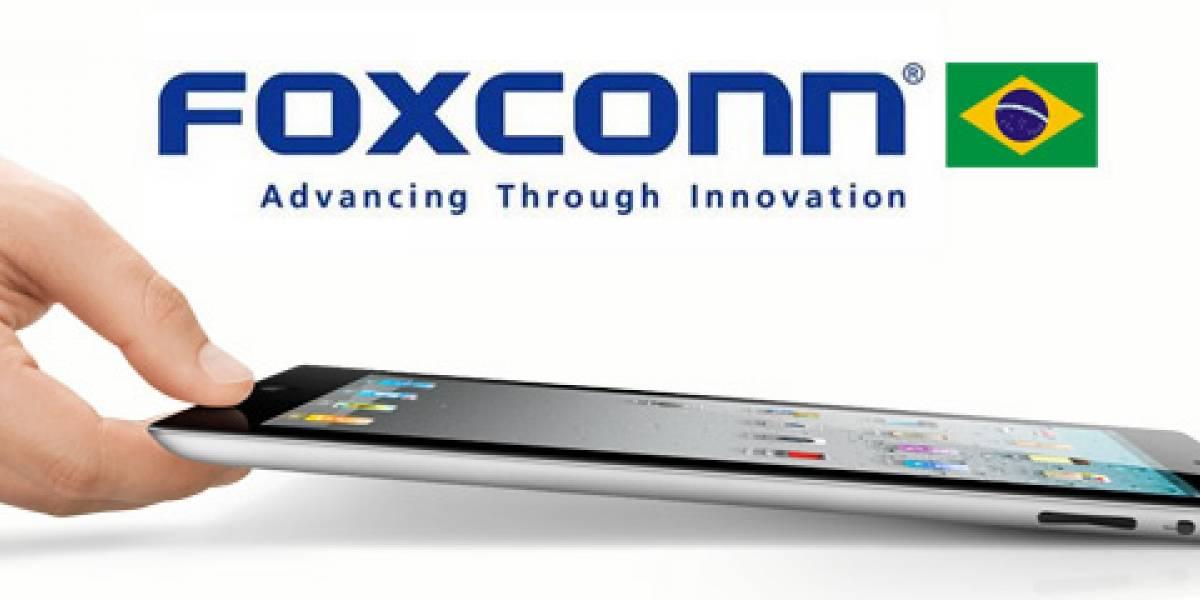 Brasil: Foxconn podría instalar cinco nuevas fábricas en el país