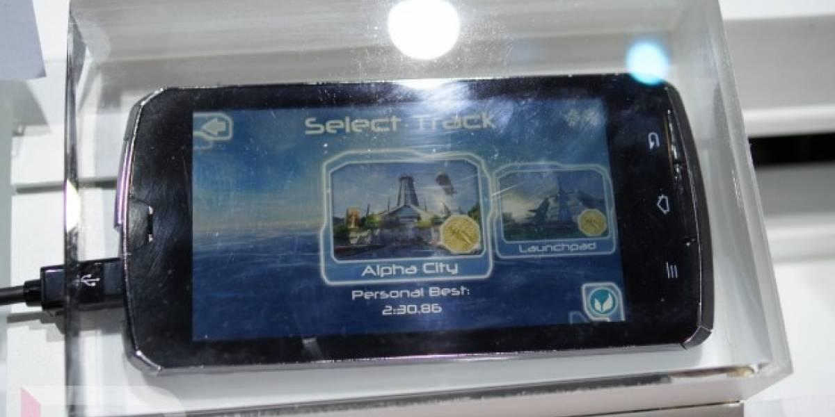 CES 2012: Fujitsu muestra su smartphone quad-core