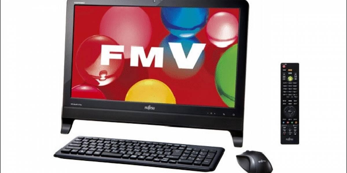 PC Todo-en-1 Fujitsu EH30/HT basada en AMD Brazos 2.0 en venta en Japón