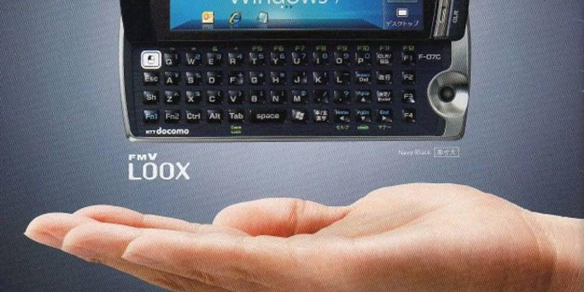 Filtración: Fujitsu Loox F-07C, un híbrido con Windows 7 y Symbian OS