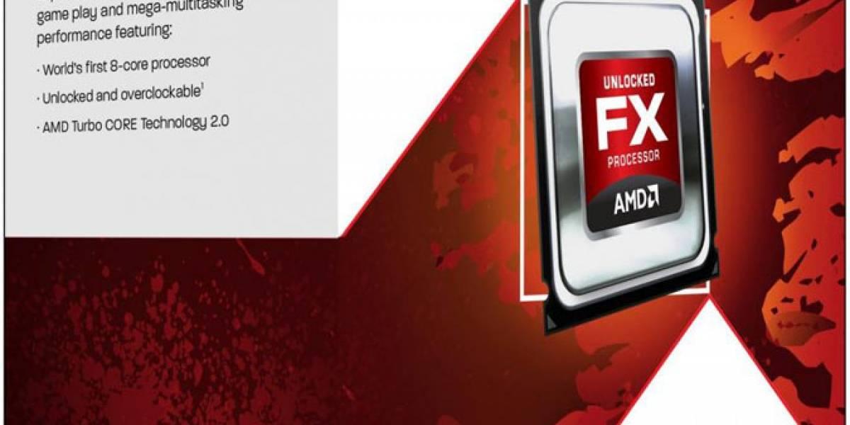"""Cajas de los CPU AMD FX """"Zambezi"""" Filtradas"""