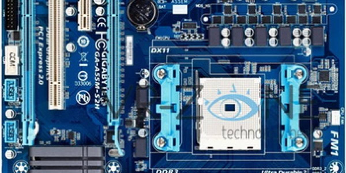 Gigabyte lanza 2 nuevas tarjetas madre basadas en el chipset AMD A55