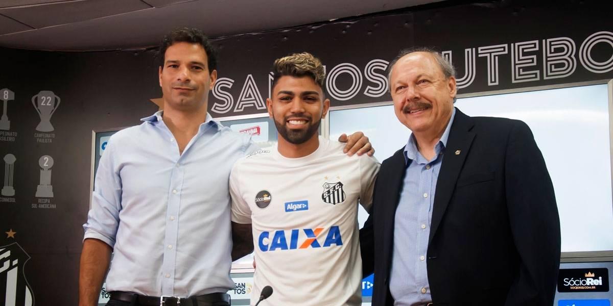 Gabriel diz que não esperava voltar tão cedo ao Santos e promete estrear logo