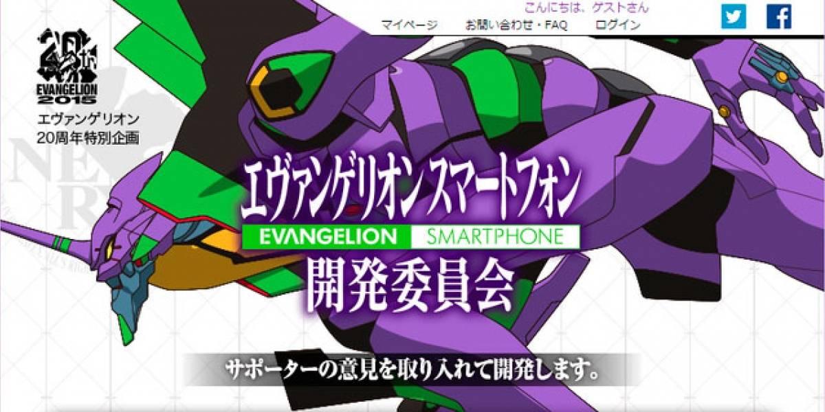 Gainax quiere que financies un smartphone de Evangelion para celebrar su 20 aniversario