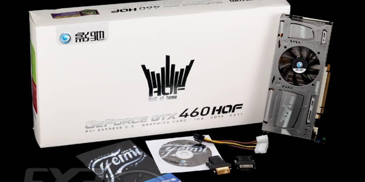 Galaxy Geforce GTX 460 HOF: Primeras imágenes