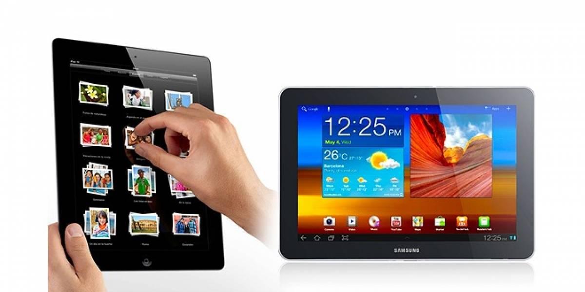 Apple lidera el mercado de tablets, pero equipos con android arremeten exitosamente