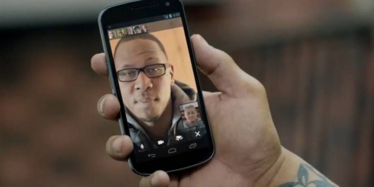 El nuevo video del Samsung Galaxy Nexus y Hangouts de Google Plus