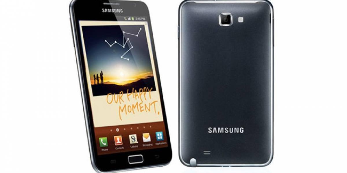 Movistar también ofrece el Samsung Galaxy Note en España