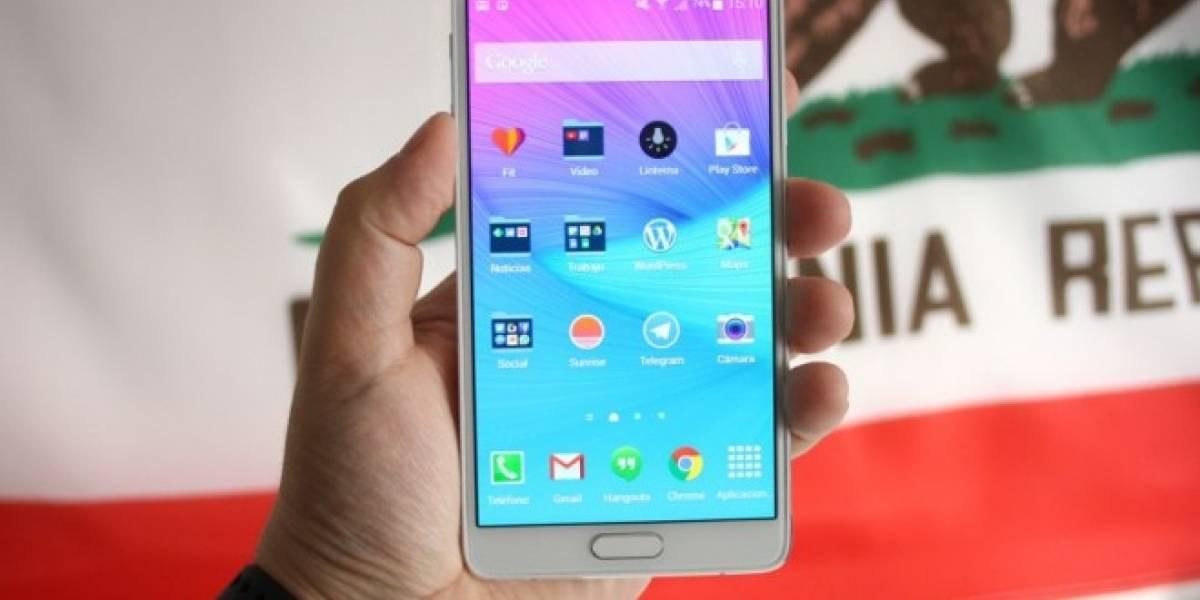 Android 5.1.1 Lollipop llegaría en julio a los Samsung Galaxy Note 4