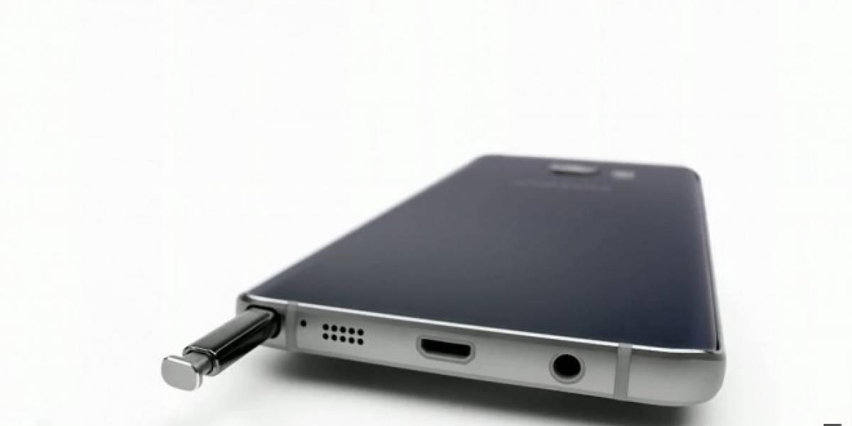 Falla de diseño en el Galaxy Note 5 daña el mecanismo para guardar el S Pen