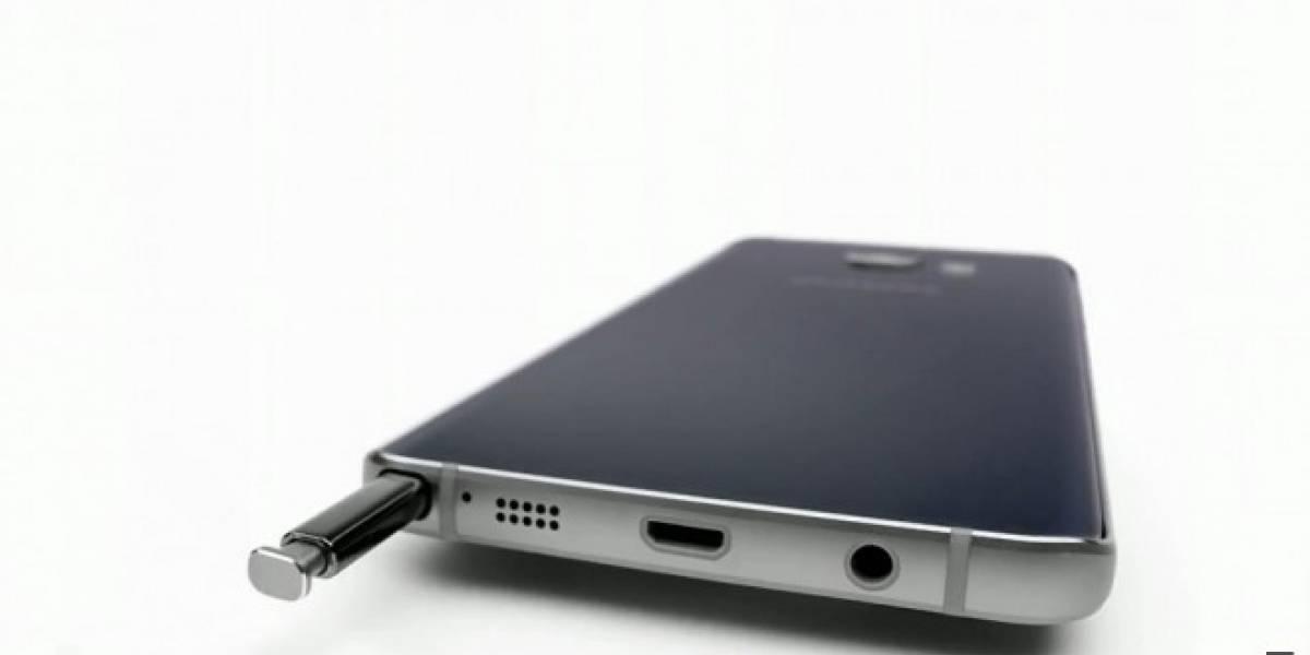 Samsung Galaxy Note 5 Active incluirá una batería de mayor capacidad