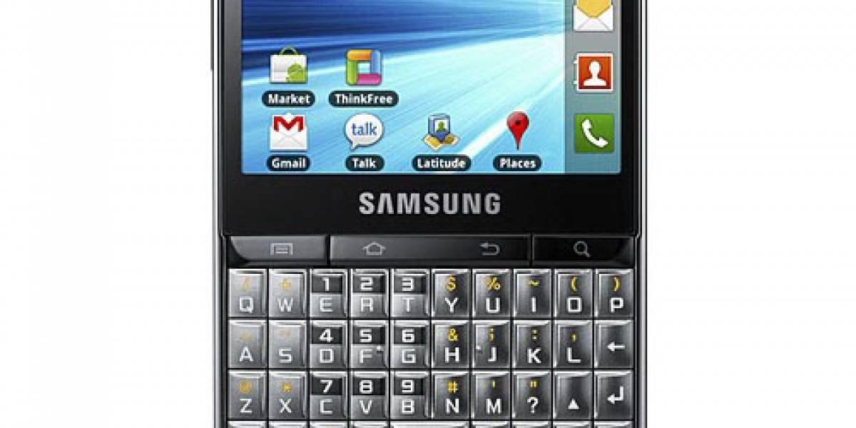 Samsung Galaxy Pro: F por funcional y feo