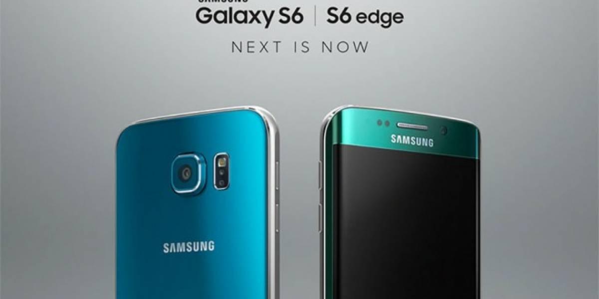 Samsung lanza dos nuevos colores del Galaxy S6 y S6 Edge