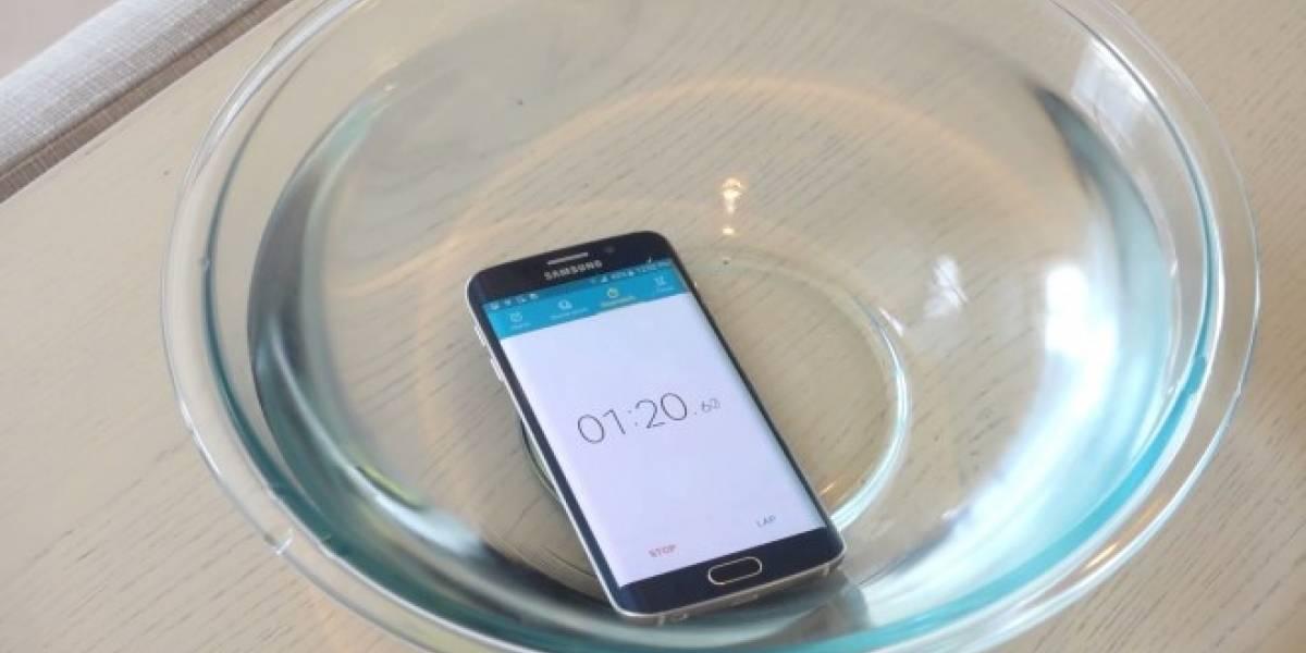 ¿Es resistente al agua el Samsung Galaxy S6 Edge?