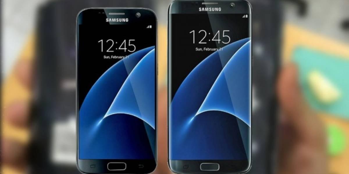 Esta supuesta imagen del Galaxy S7 confirmaría su apariencia definitiva
