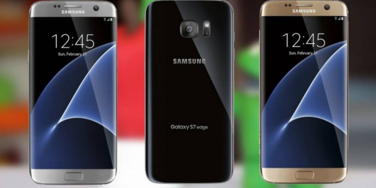 Samsung Galaxy S7 Edge se filtra con tres colores distintos