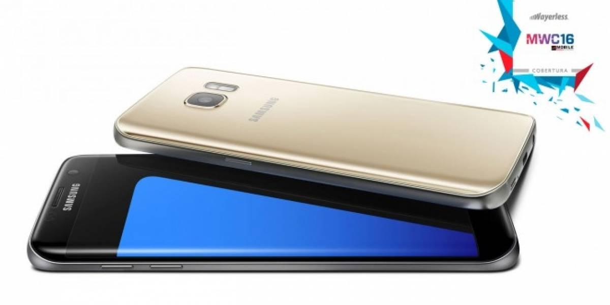 Samsung anuncia los Galaxy S7 y S7 Edge #MWC16