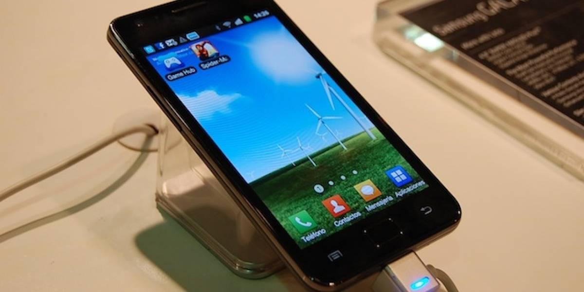 Galaxy S II A Primera Vista: Enorme, liviano y poderoso