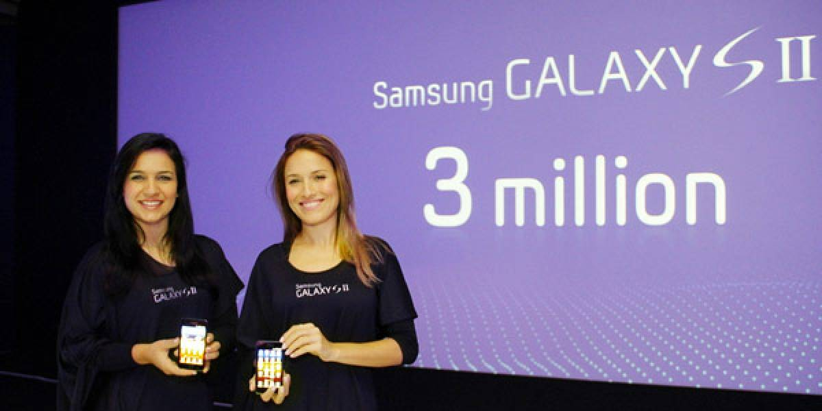 Samsung Galaxy S II: Se han vendido ya 3 millones de equipos