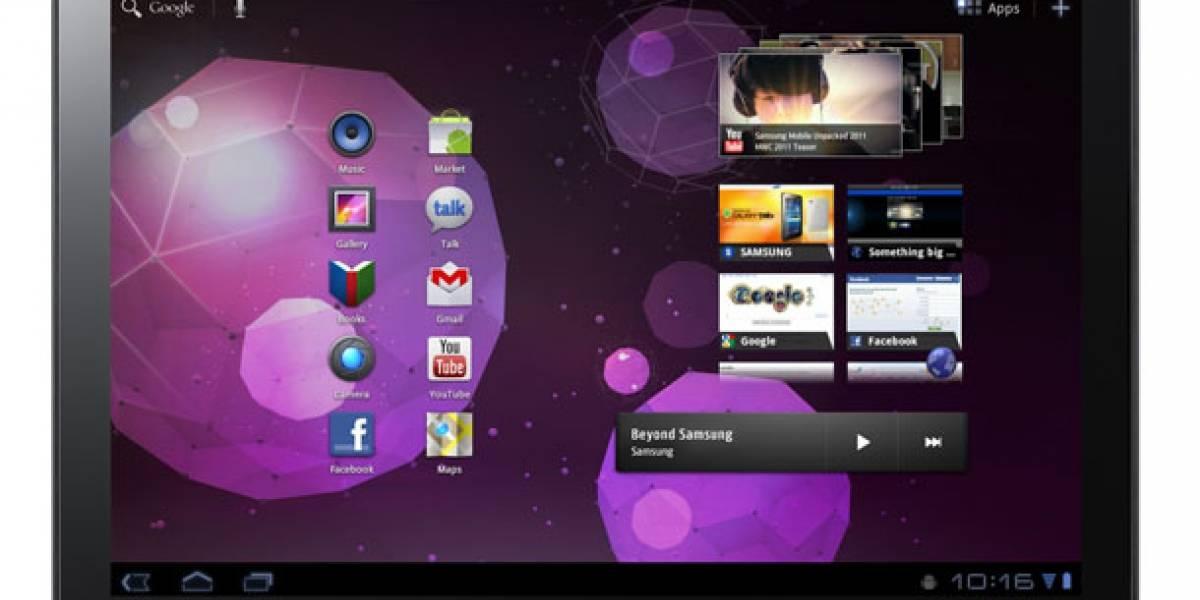 Comercial de la Galaxy Tab 10.1 se acuerda de Apple