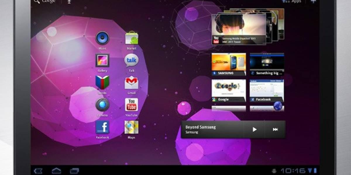 """Samsung: """"Galaxy Tab 10.1 no cambiará por llegada del iPad 2"""""""