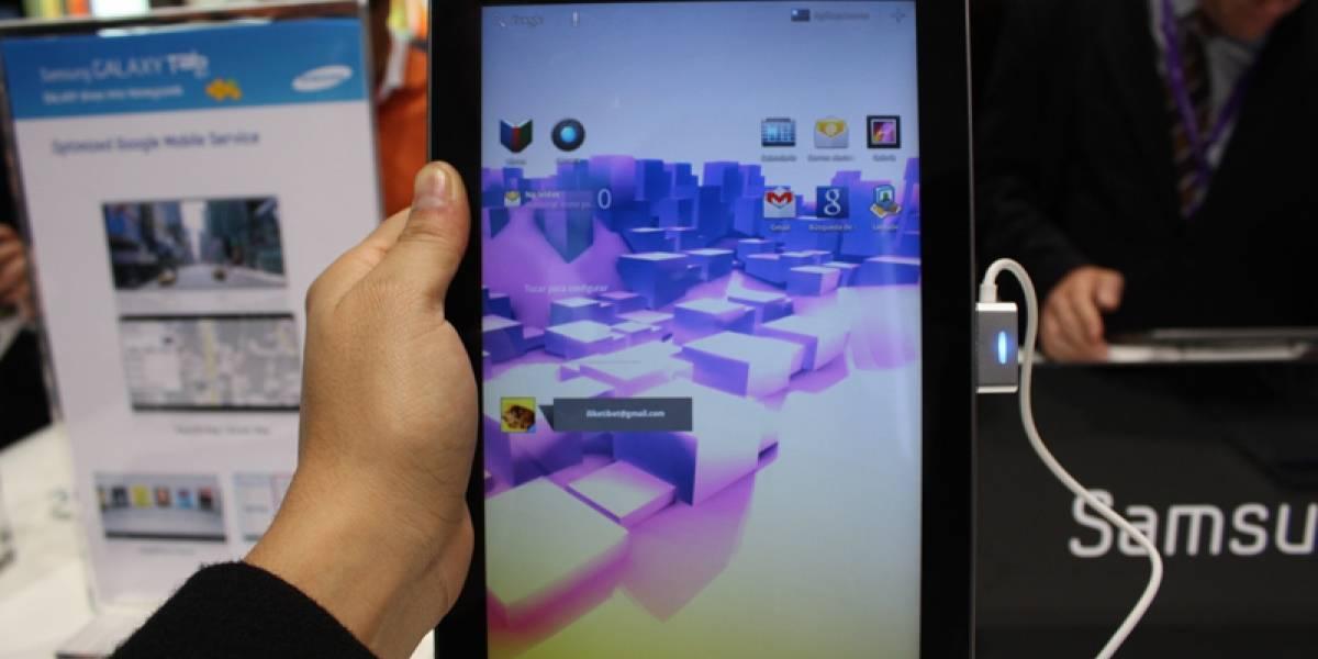 MWC2011: Samsung Galaxy Tab 10.1 a primera vista [Actualizado con video]