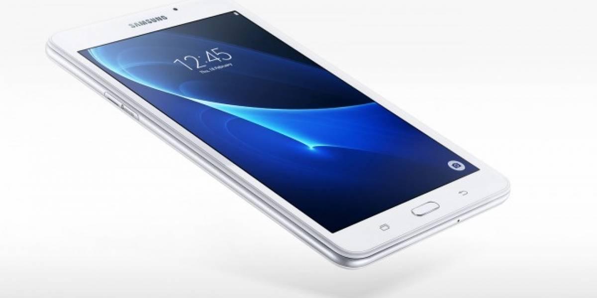 Samsung anuncia oficialmente la Galaxy Tab A 2016