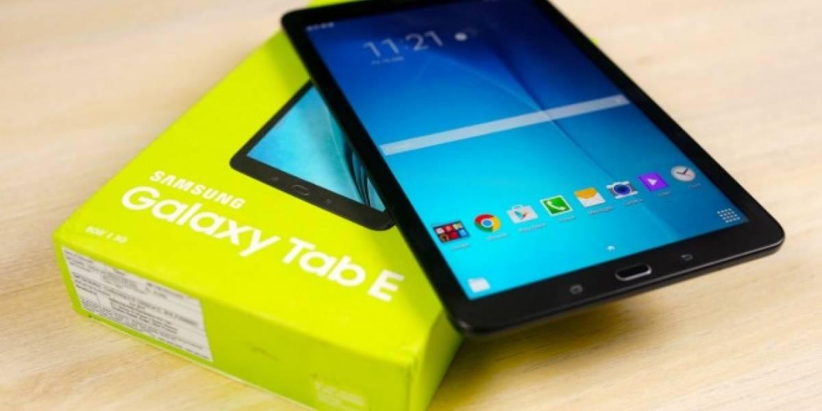 Samsung trabaja en un sucesor para su Galaxy Tab E