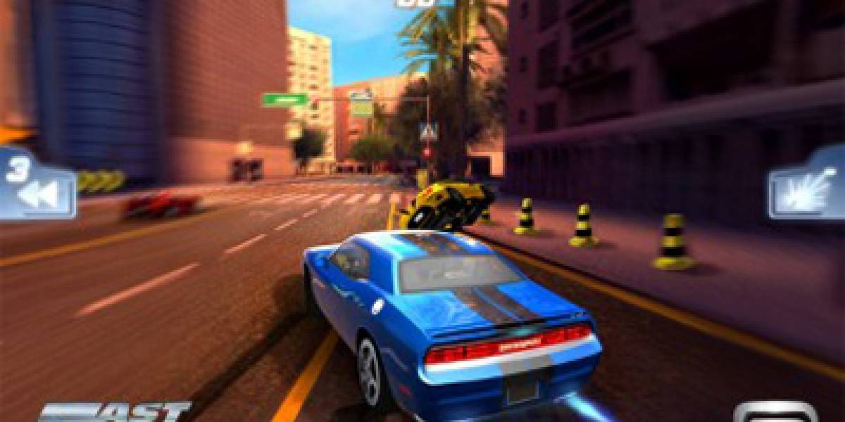 Gameloft revela juego de carreras Fast Five