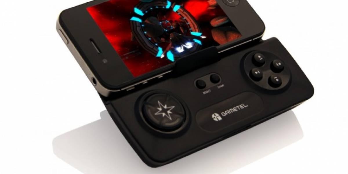 """CES 2012: Gametel Gamepad hará que salga humo de tu """"consola"""" iOS"""