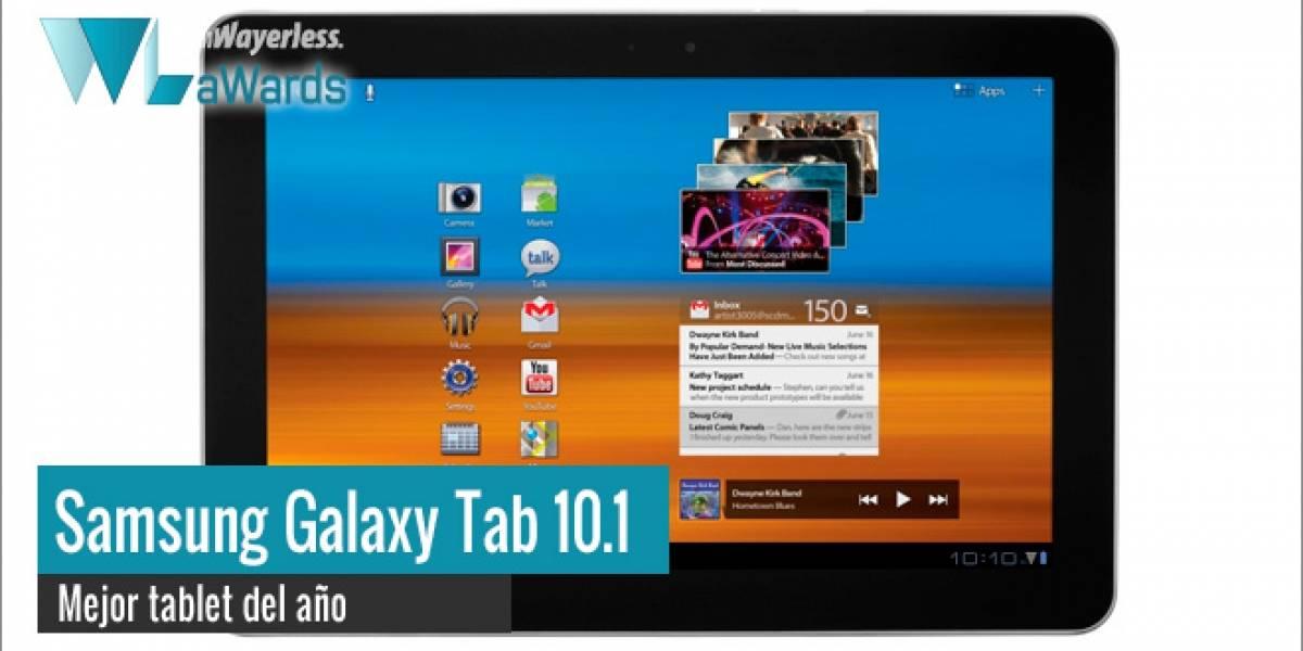 WL aWards 2011: Galaxy Tab 10.1, la tablet del año