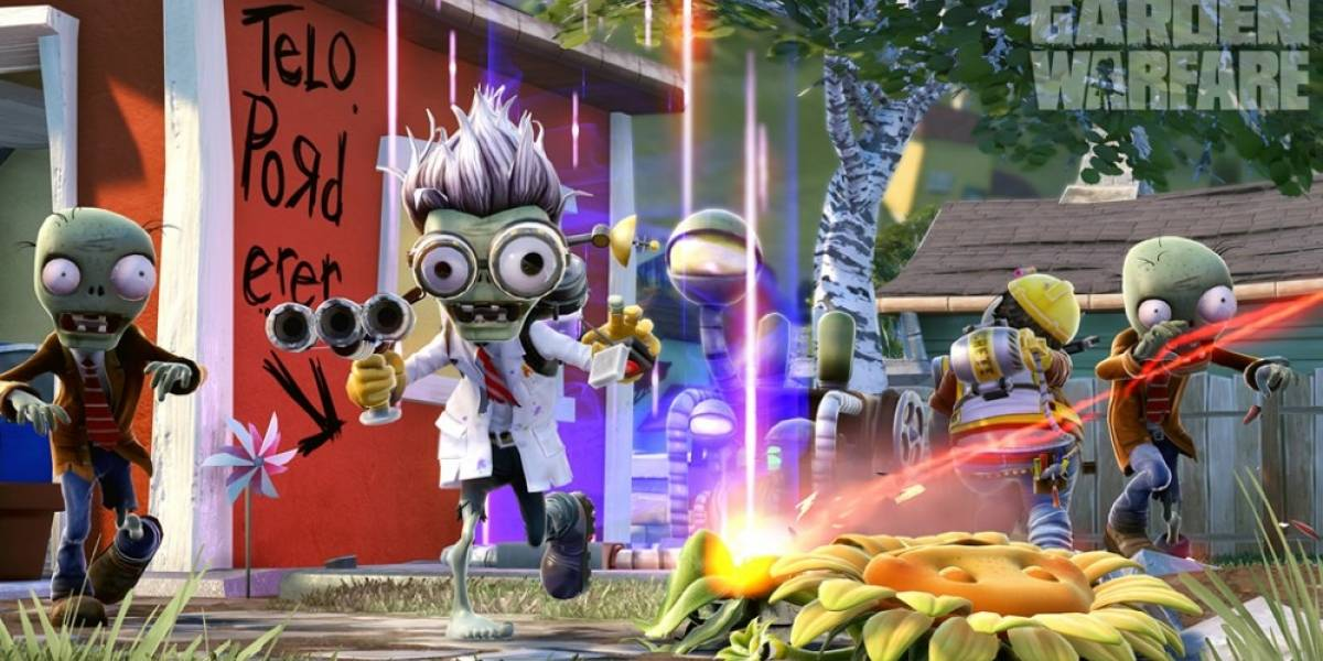 Plants vs Zombies: Garden Warfare se agrega a EA Access