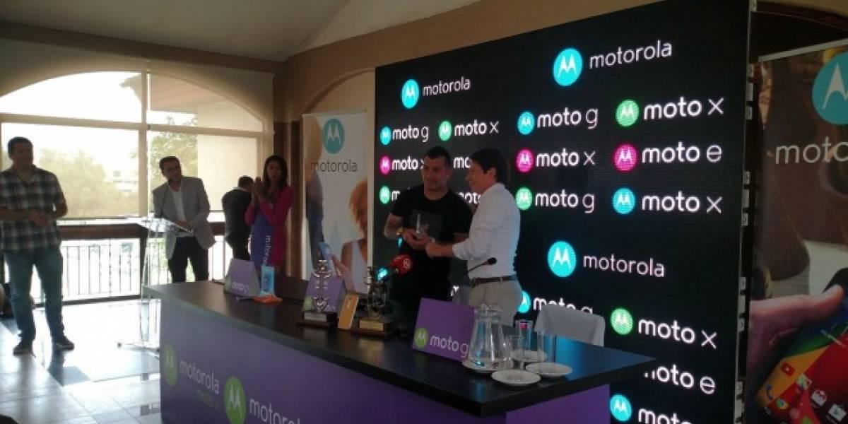 Gary Medel seguirá siendo el rostro de Motorola en Chile