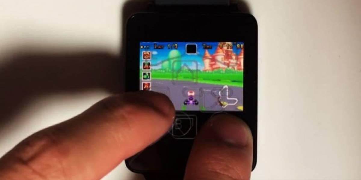 ¿Mario Kart en Android Wear? Es posible con emulador de Game Boy Advance