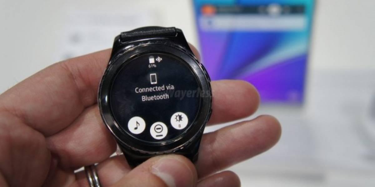 Samsung Gear S2 podría ser compatible con el iPhone muy pronto