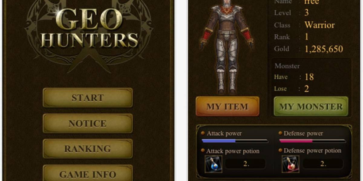 GEO Hunter combina geolocalización, RPG y noticias de actualidad
