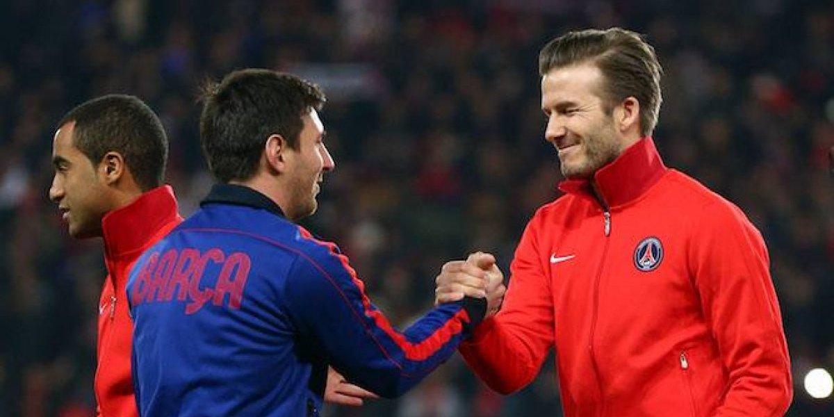 Messi se ofrece para jugar en el equipo de Beckham en un futuro