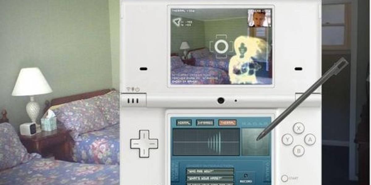 Caza fantamas con tu Nintendo DSi