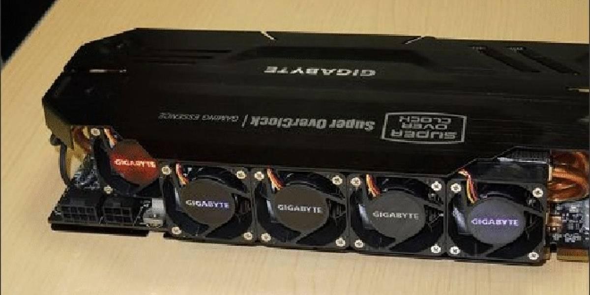 Gigabyte GTX 680 Super OverClock WindForce 5X: Especificaciones y precio