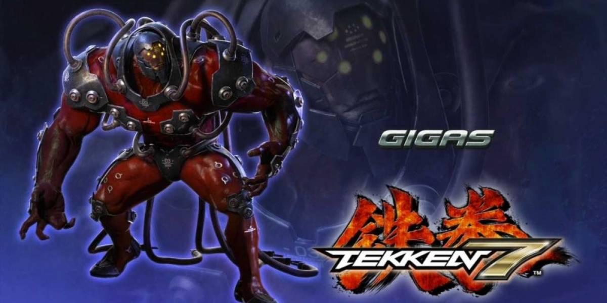 Gigas es el nuevo personaje de Tekken 7