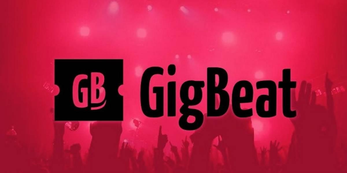 GigBeat, descárgalo y nunca más te pierdas los conciertos de tus artistas favoritos