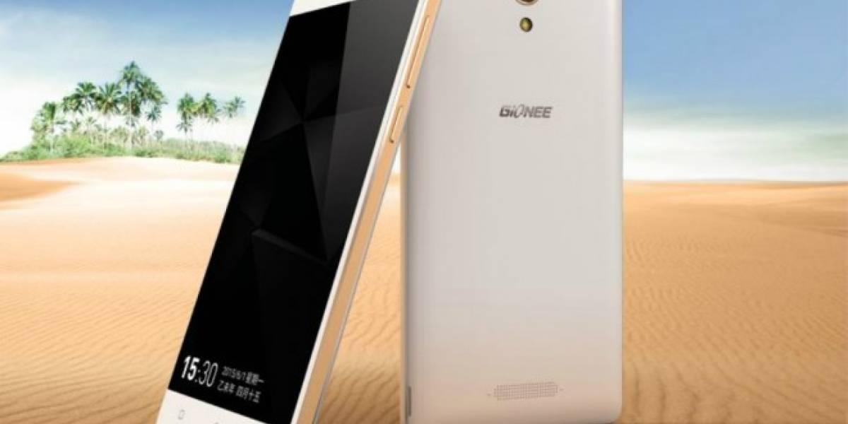 Gionee Marathon M4 es otro teléfono chino con batería gigantesca: 5,000mAh de capacidad